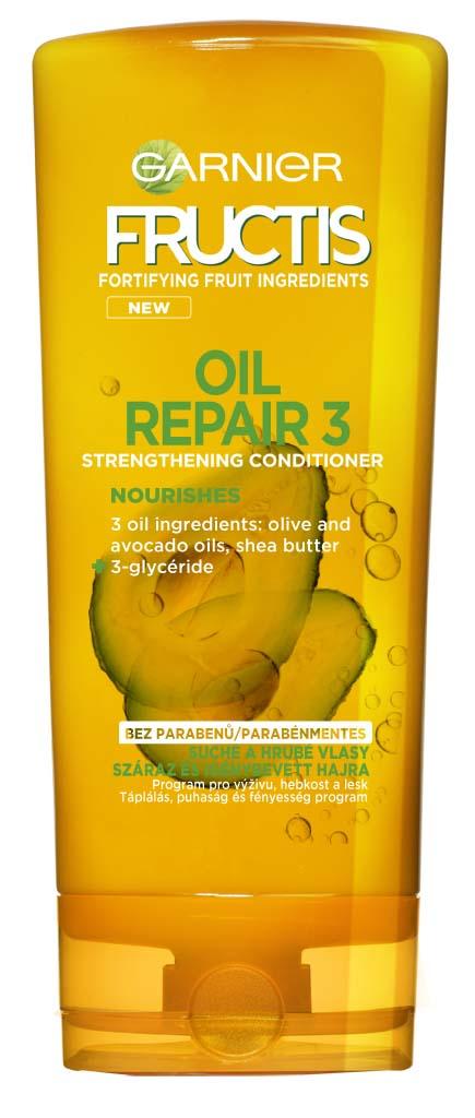 Fotografie Garnier Fructis Oil Repair 3 posilující balzám 200 ml