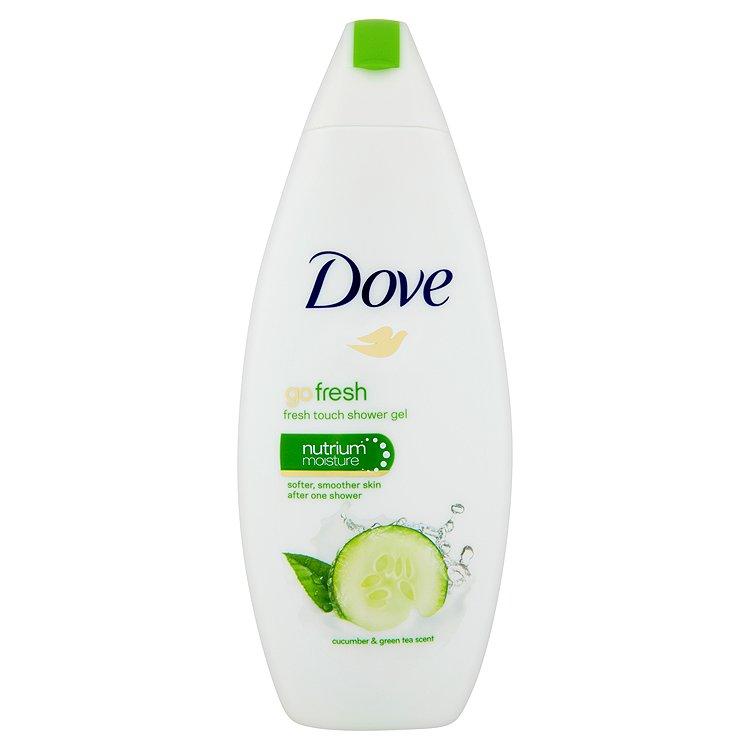Dove Go fresh vyživující sprchový gel s vůní okurky a zeleného čaje 250 ml