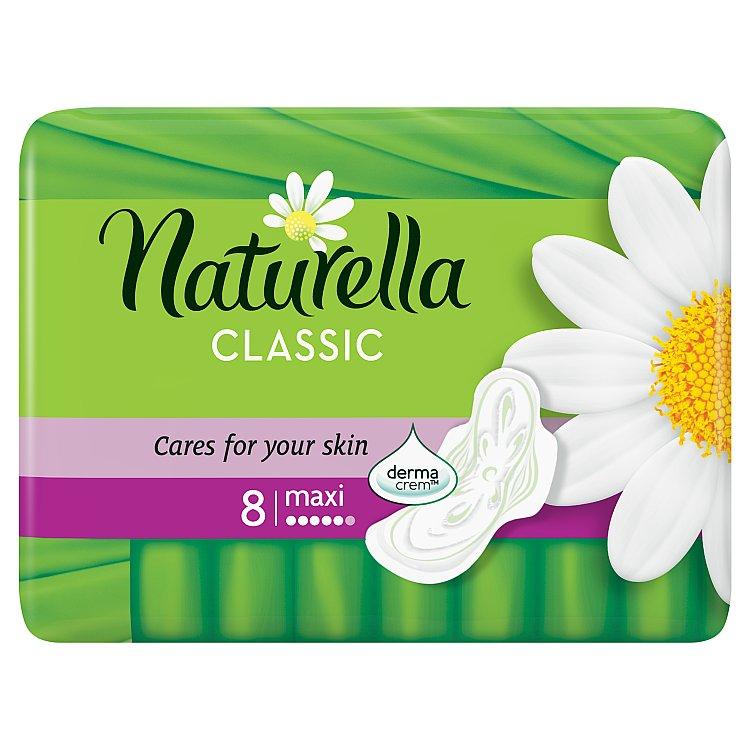Fotografie Naturella vložky Classic Maxi 8ks
