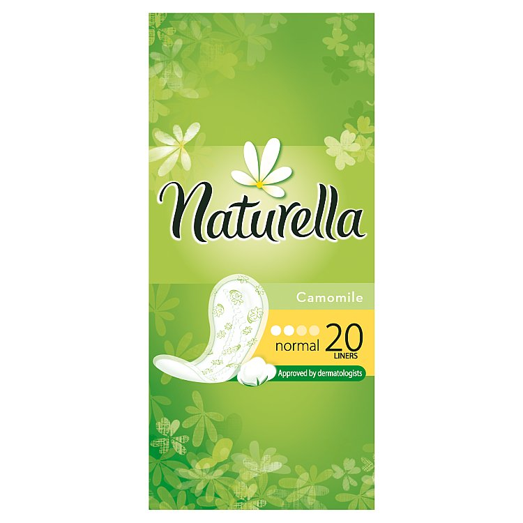 Fotografie Naturella Camomile Normal daily intimky 20 ks/bal.