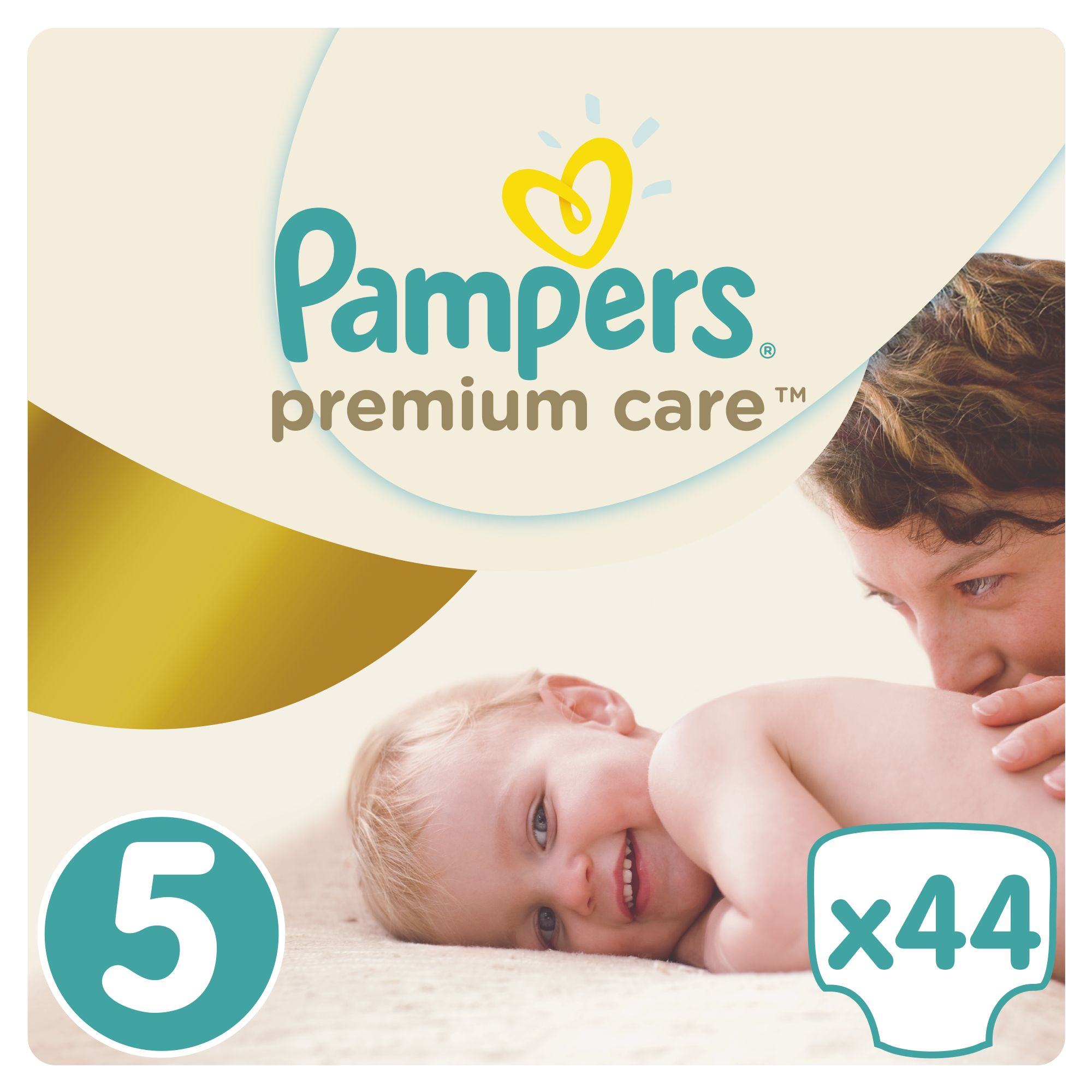 Pampers Premium Care pleny 5 Junior, 11-18 kg 44 ks