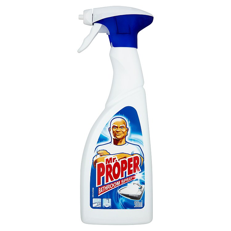Fotografie Mr. Proper Sprej na čistění koupelny 500 ml