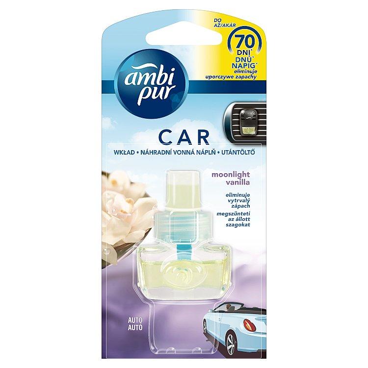 AmP Car3 Vanilla náhradní vonná náplň 7 ml