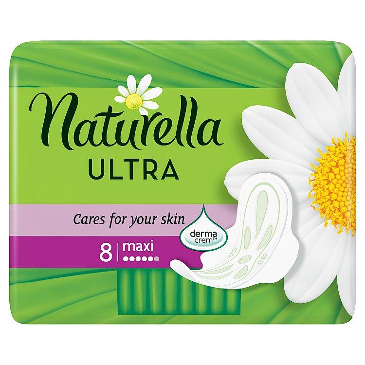 Naturella Camomile Ultra maxi hygienické vložky s jemnou vůní 8 ks/bal.
