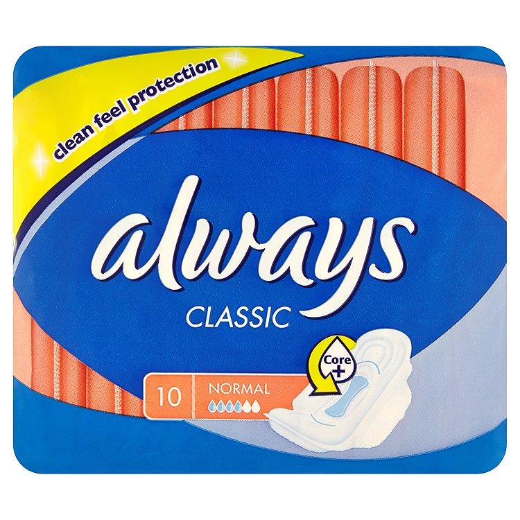 Always Classic Normal hygienické vložky 10 ks/bal.