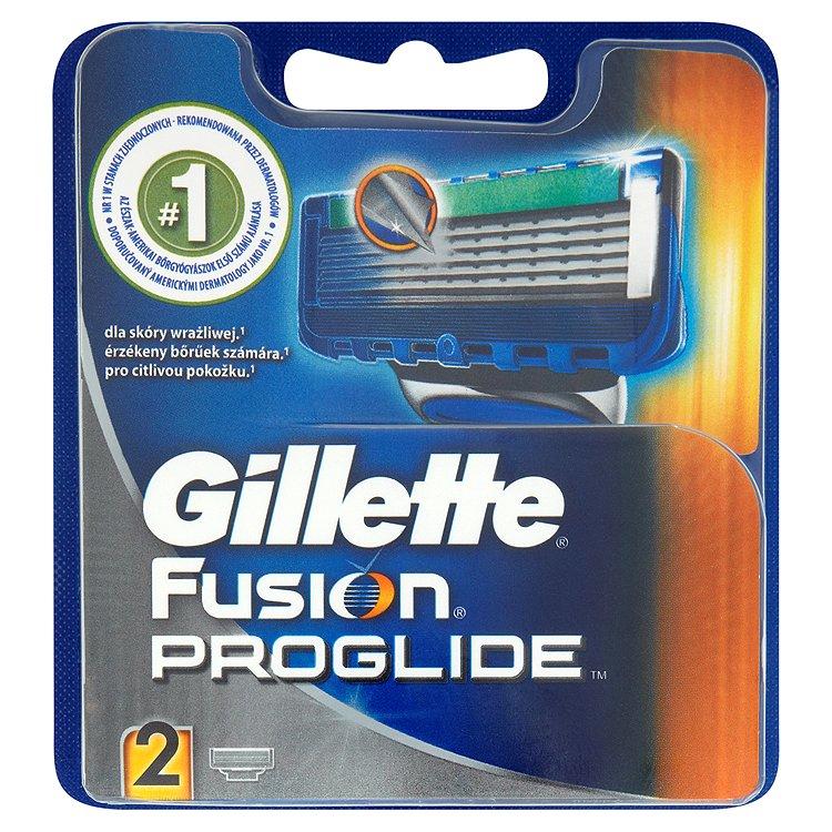 Gillette Fusion ProGlide Náhradní hlavice k holicímu strojku 2 ks