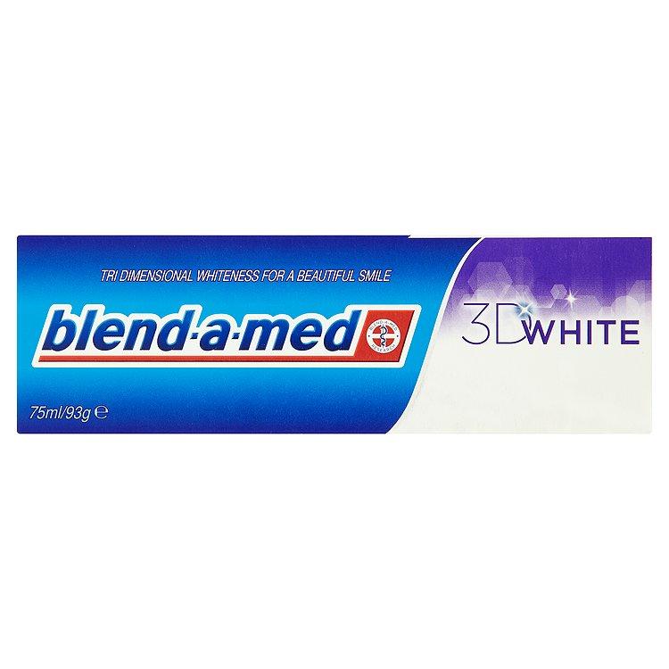 Fotografie Blend-A-Med 3D White zubní pasta s bělicím účinkem 75 ml