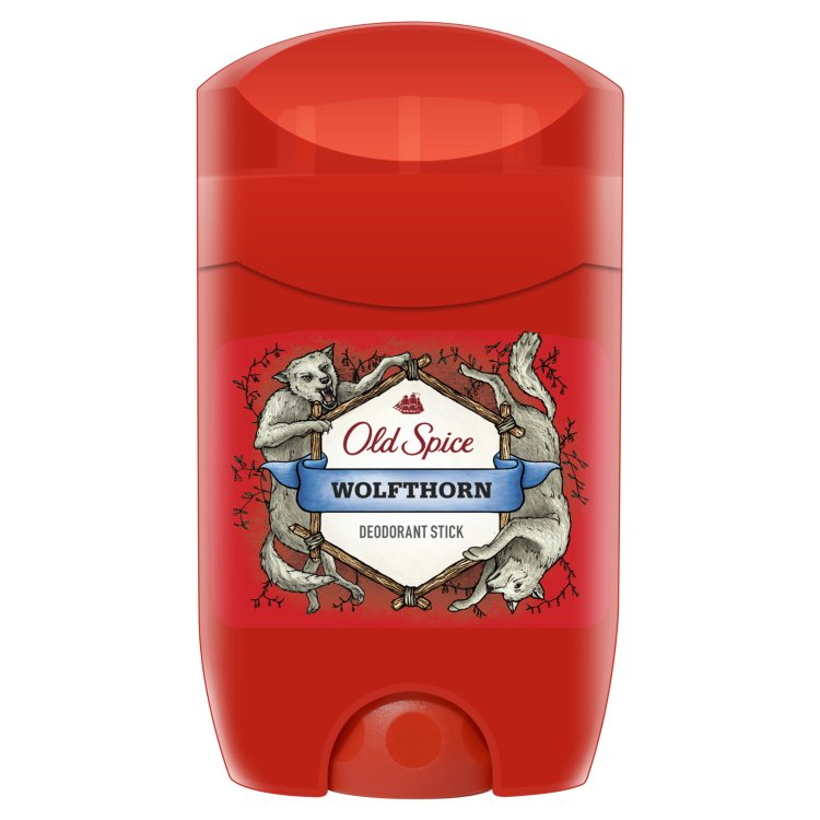 Old Spice Wolfthorn tuhý deodorant 50 ml