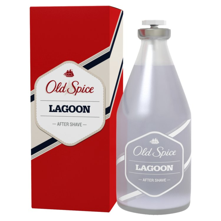 Fotografie Old Spice Lagoon voda po holení 100 ml