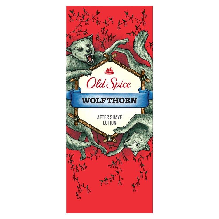Fotografie Old Spice Wolfthorn voda po holení 100 ml