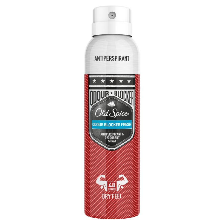 Fotografie Old Spice Odor blocker deodorant ve spreji 125 ml