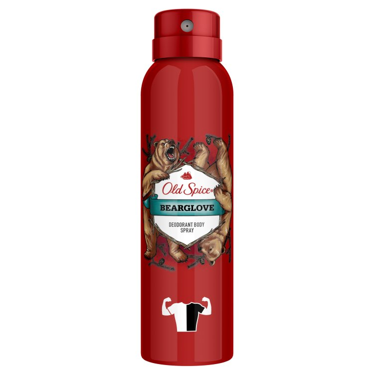 Fotografie Old Spice Bearglove deodorant ve spreji 125 ml
