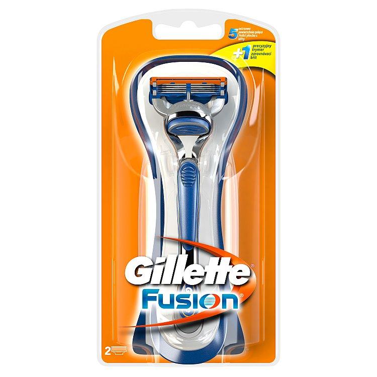 Gillette Fusion Pánský Holicí Strojek + 2 holicí hlavice