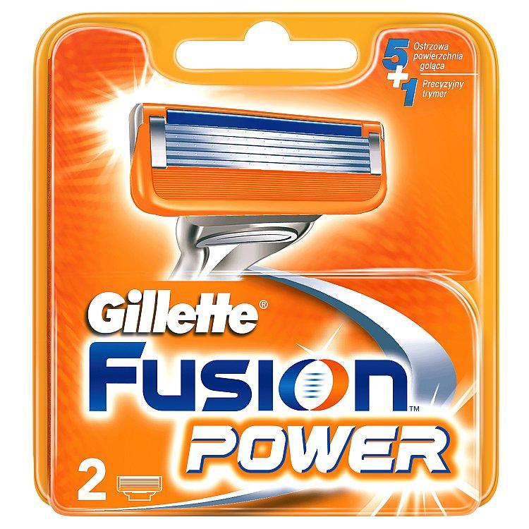 Gillette Fusion Power Náhradní Hlavice K Holicímu Strojku – 2 ks