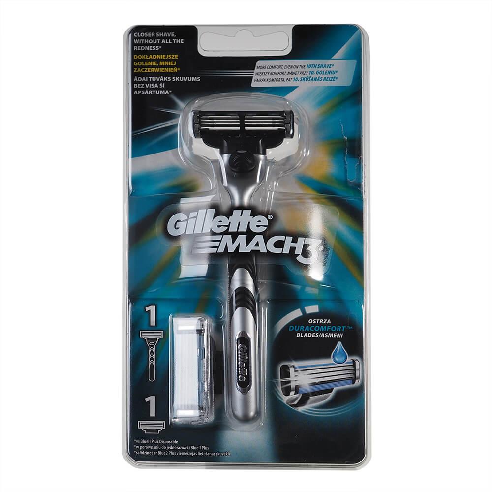 Gillette Mach3 Pánský holicí strojek + 2 náhradní hlavice