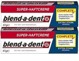 Blend-a-med fixační krém na zubní náhradu 2x 47 g Blend-a-dent