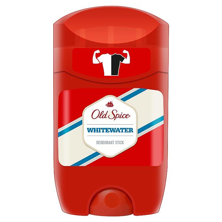 Old Spice Whitewater tuhý deodorant pro muže 50 ml