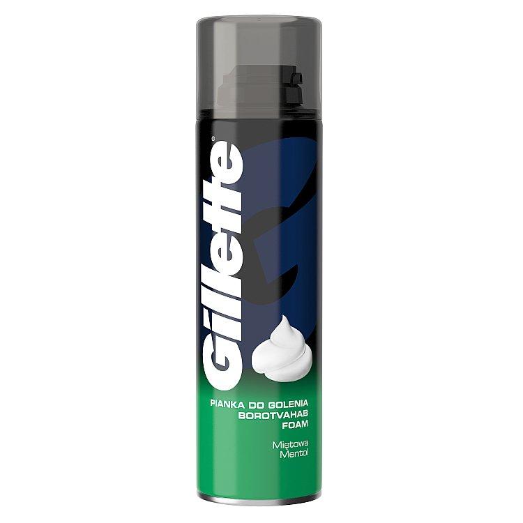 Gillette Mentol pěna na holení 200 ml