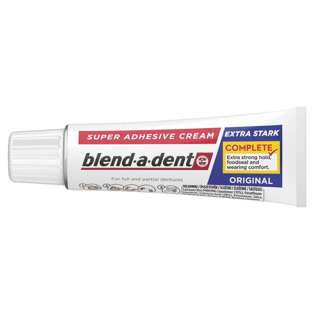 Blend-a-dent Complete Original Fixační krém na zubní náhradu 47 g