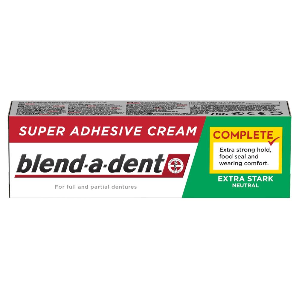 Blend-a-dent Complete Fixační Krém Na Zubní Náhradu Neutral 47 g