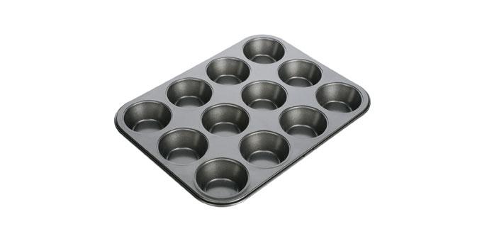Fotografie Forma 12 muffinů DELÍCIA 34x26 cm