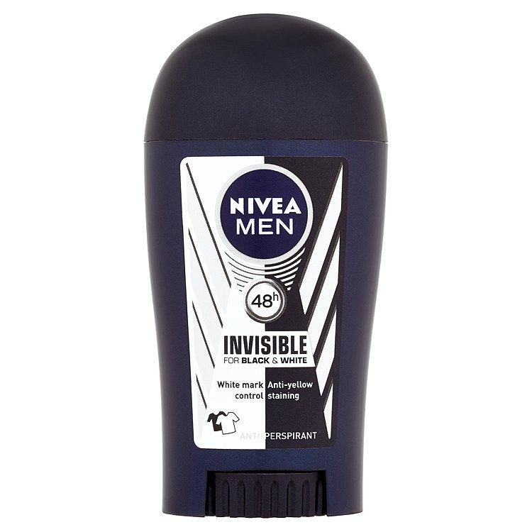 Nivea Men Invisible for Black & White Power tuhý antiperspirant 40 ml