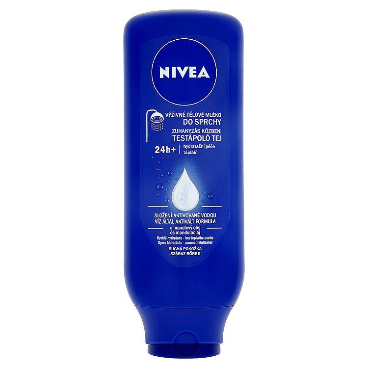 Fotografie Nivea Výživné tělové mléko do sprchy 400 ml