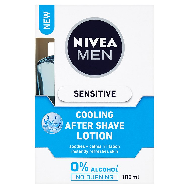 Fotografie Nivea Men Sensitive Cooling voda po holení 100 ml