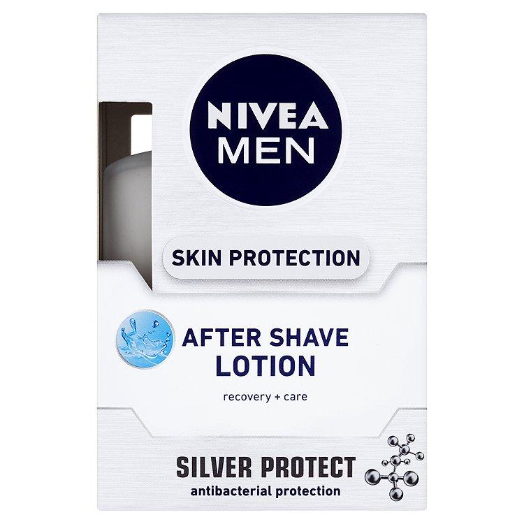 Fotografie Nivea Men Silver Protect voda po holení 100 ml