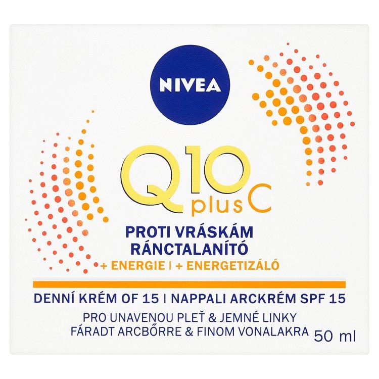 Fotografie Nivea Q10 Plus, energizující denní krém proti vráskám 50 ml