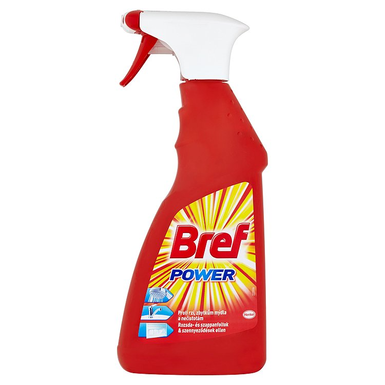 Fotografie Bref Power tekutý čistič s extra silou rozprašovač 500 ml