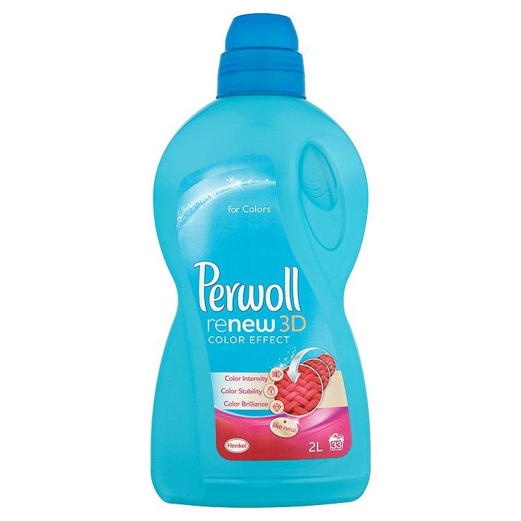 Fotografie Perwoll ReNew3D Color Effect prací prostředek, 33 praní 2 l