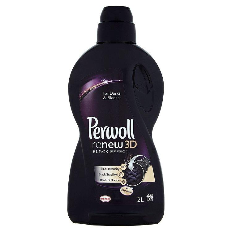 Perwoll ReNew 3D black effect prací prostředek, 33 praní 2 l