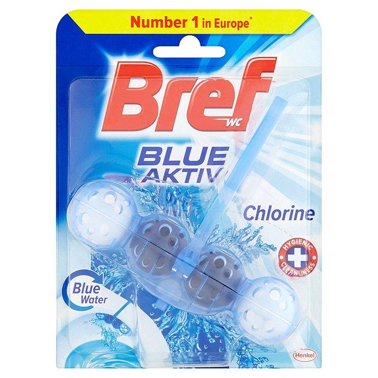 Bref Blue Aktiv WC blok s chlórem 50 g
