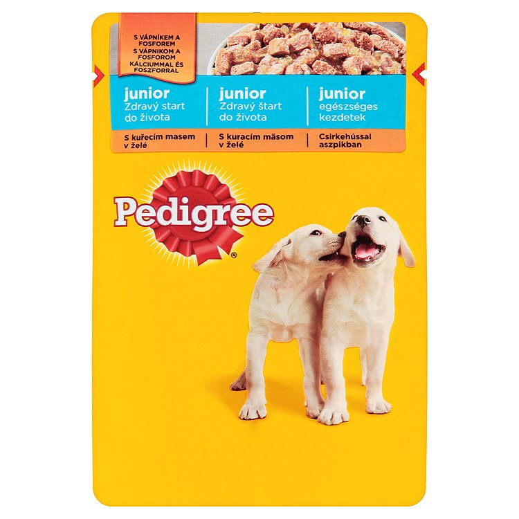 Kap.PEDIGREE Junior v zele kureci+ryze 100g 100 g