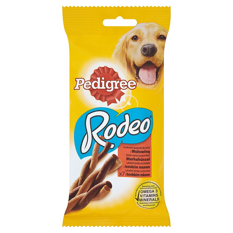 PEDIGREE Rodeo hovezi 7ks 122g 122 g