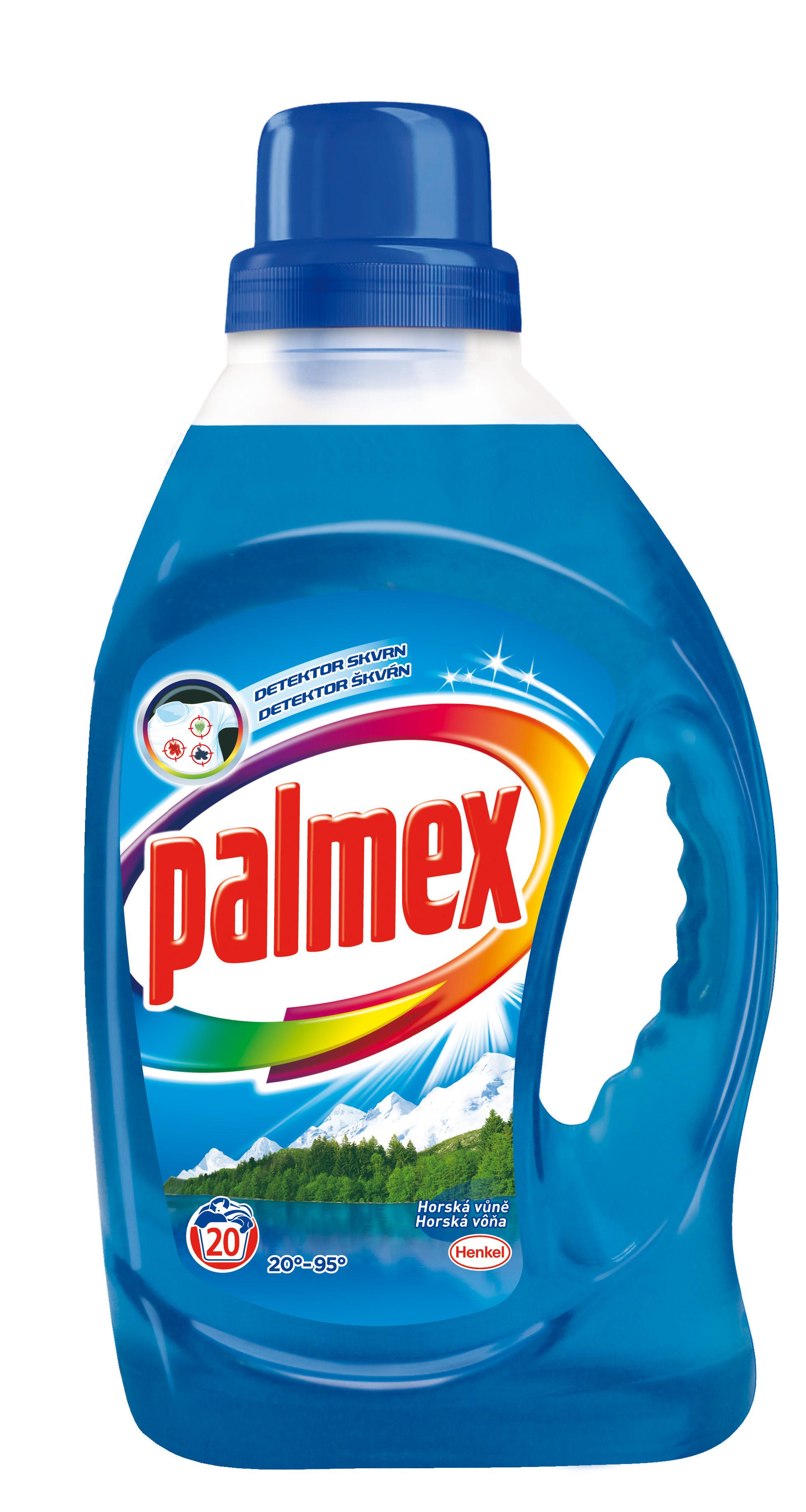 Palmex Gel s horskou vůní, 20 praní 1,46 l