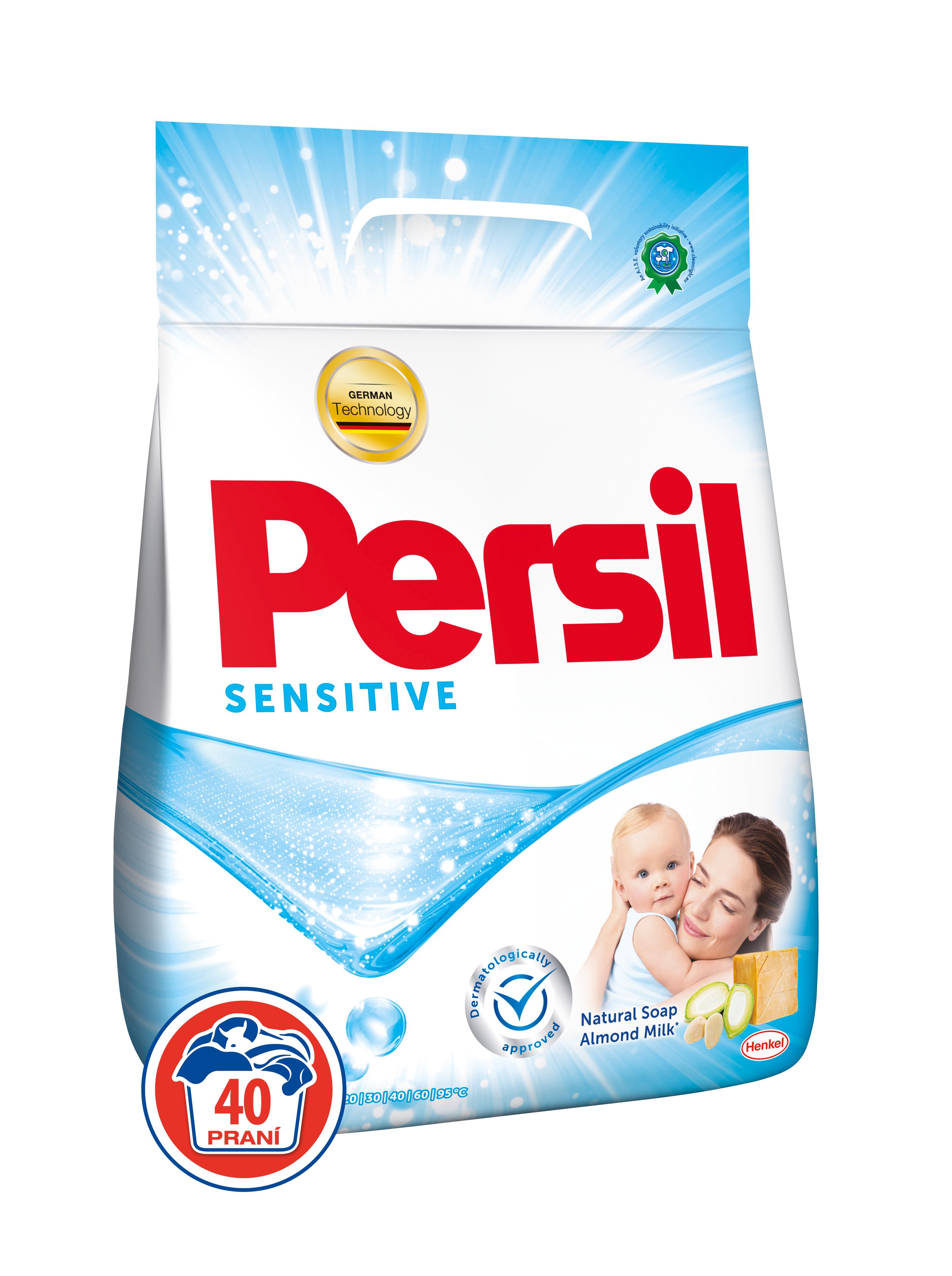 Persil Sensitive prací prášek, 40 praní 2,8 kg