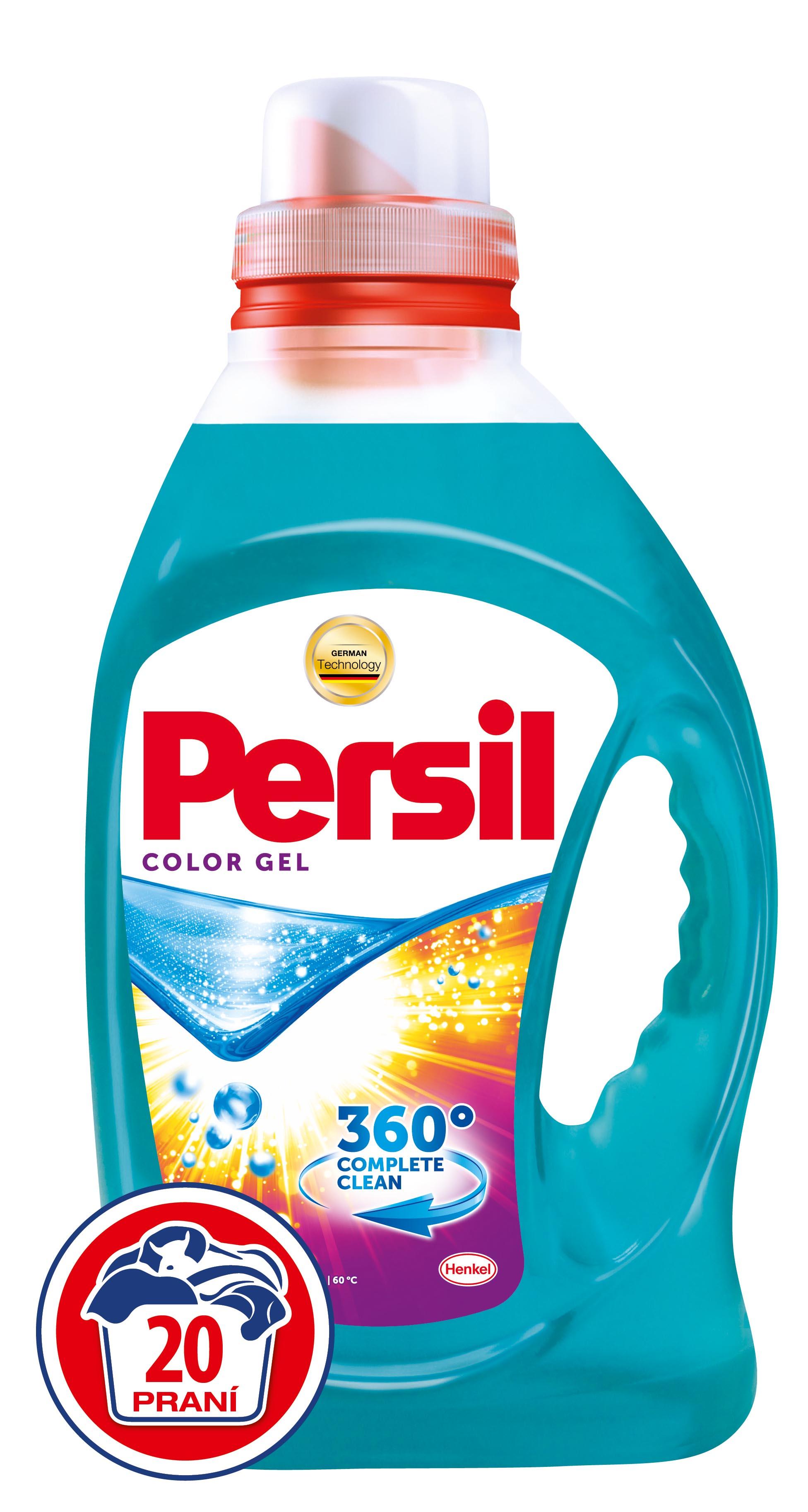 Fotografie Persil Color gel, 20 praní 1,46 l