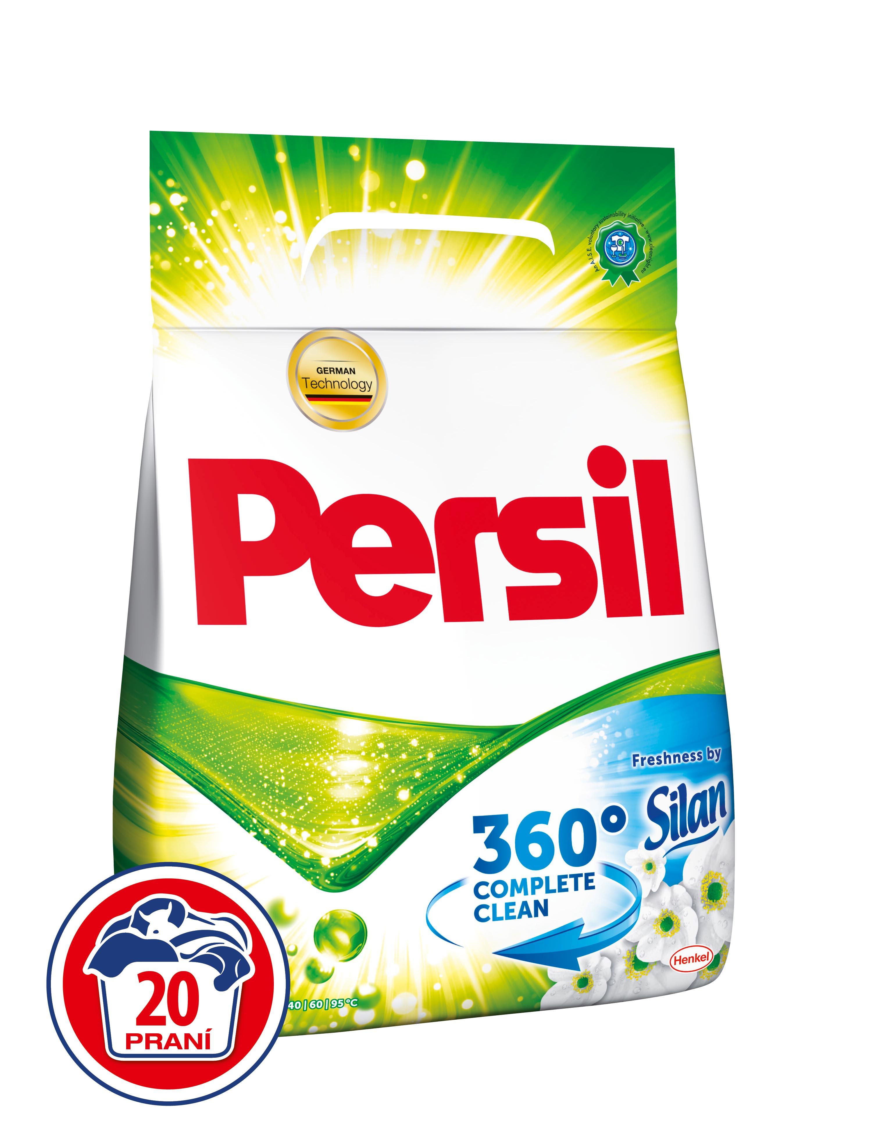 Persil Fresh Pearls by Silan prací prášek, 20 praní 1,4 kg