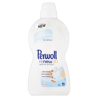 Perwoll ReNew 3D White Effect prací prostředek na bílé prádlo, 33 praní 2 l