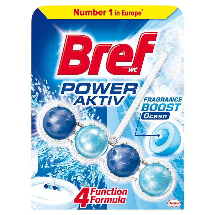 Bref Power Aktiv WC blok, Ocean 50 g