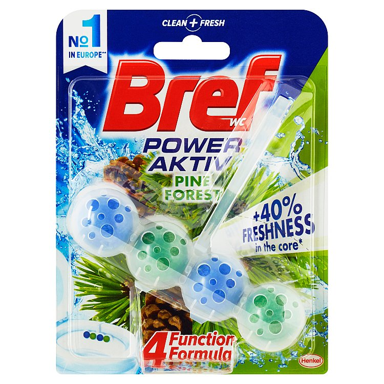 Bref Power Aktiv WC blok, Pine 50 g