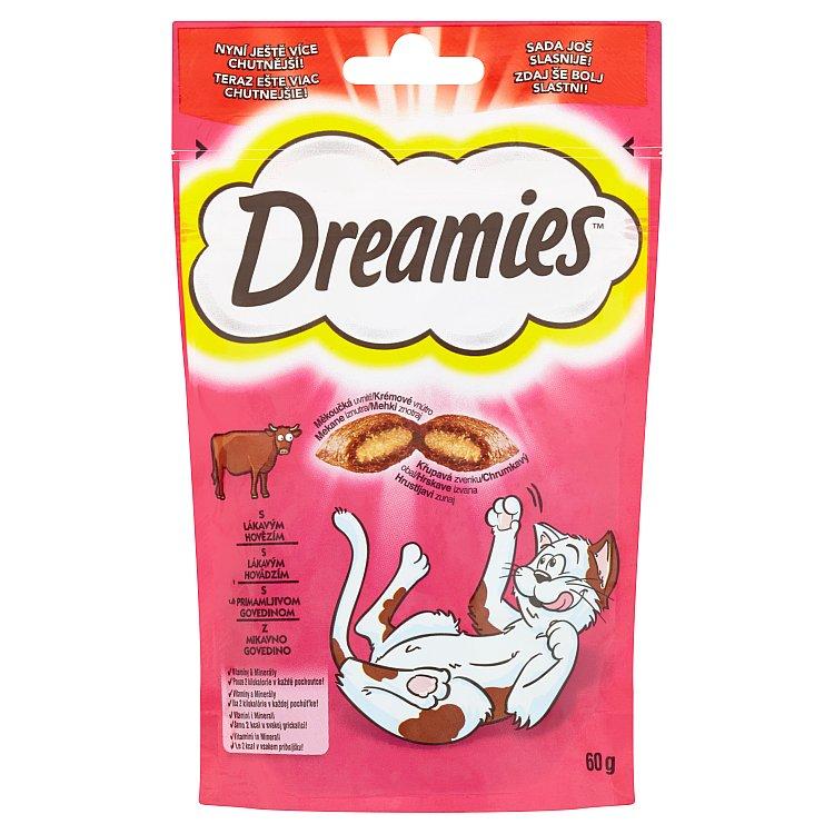 DREAMIES hovezi pro kocky 60g 60 g