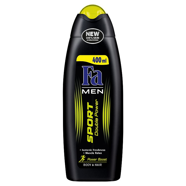 Fa Men Sport Double Power Power Boost sprchový gel 400 ml