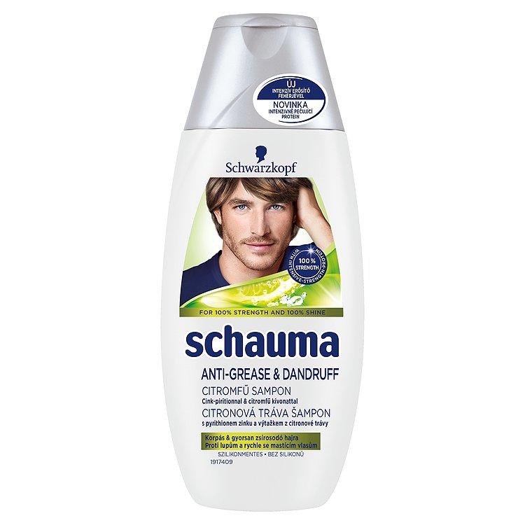 Fotografie Schauma šampon Proti lupům Citronová tráva 250 ml