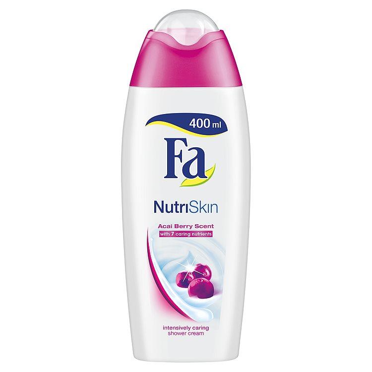 Fa NutriSkin Acai Berry Sprchový krém 400 ml