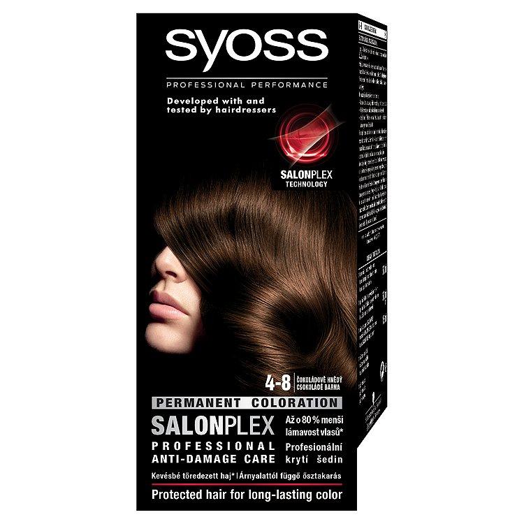 Syoss barva na vlasy Čokoládově Hnědý 4-8
