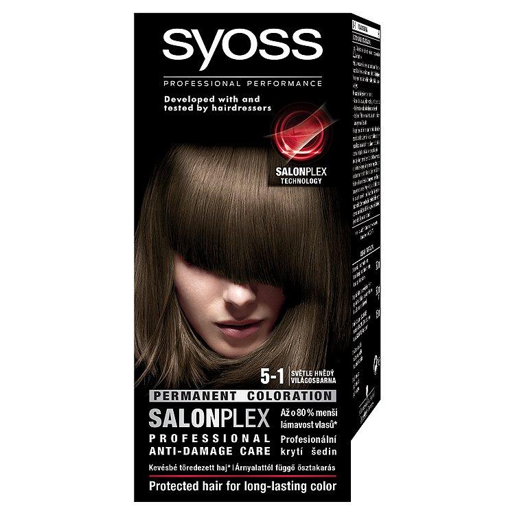 Syoss barva na vlasy Světle Hnědý 5-1