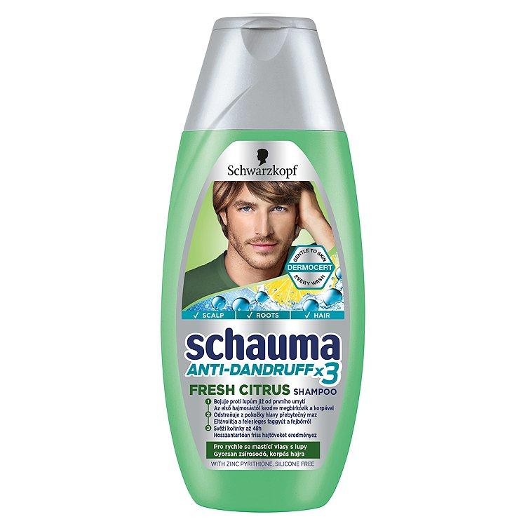 Schauma šampon Proti lupům Citronová tráva 250 ml